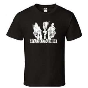After The Lounge Flying Mic Mens Tshirt