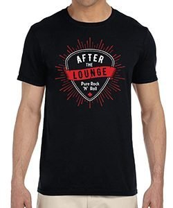 ATL Guitar Pick Mens Tshirt